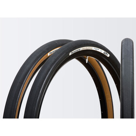 Panaracer GravelKing Slick Folding Tyre 700x38C TLC, black/brown